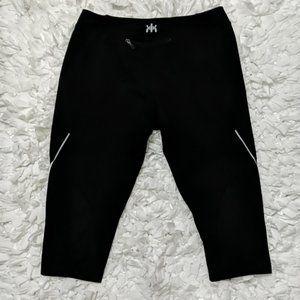 *Kyodan Athletic Black Shorts Capris